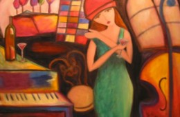 Julie Piano Lady