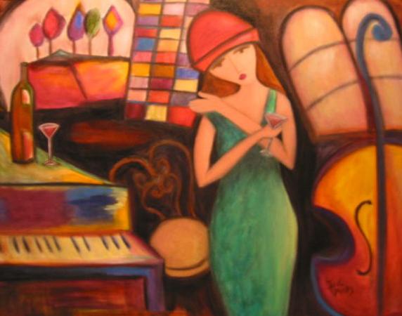 Julie Piano Lady